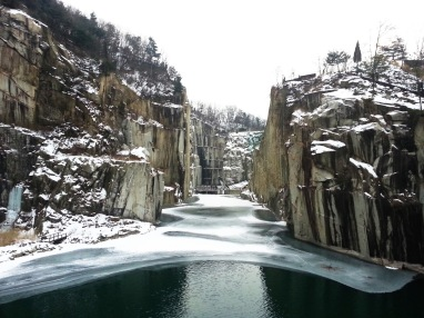 Pocheon Art Valley - Cheonjuho Lake winter - Korea trip